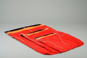 Bojflagga, Dacron, 50x70cm, orange