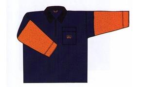 Grundéns - Hälsö 78, anorak, orange/blå