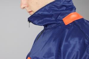 Grundéns - Hälsö 780, anorak, orange/blå