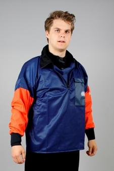 Grundéns - Hälsö 761, jacka, orange/blå