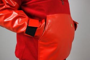 Guy Cotten –  Fleecetröja Kodiak, röd