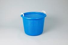 Fiskebasker, 44 liter, blå