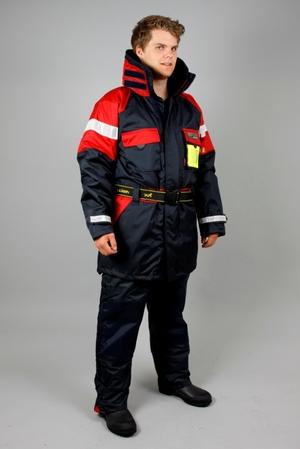 Mullion – Flytbyxa Aquafloat Superior, marinblå