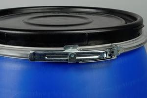 Betestunna, yrkesfiske, 120 L, blå