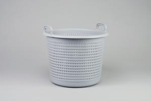 Fiskebasker, 44 liter, grå